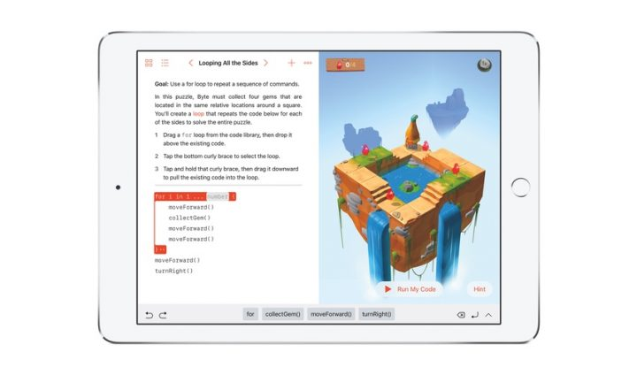 苹果 Swift Playgrounds 官方中文版正式提供下载